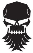Bearded Skull Design