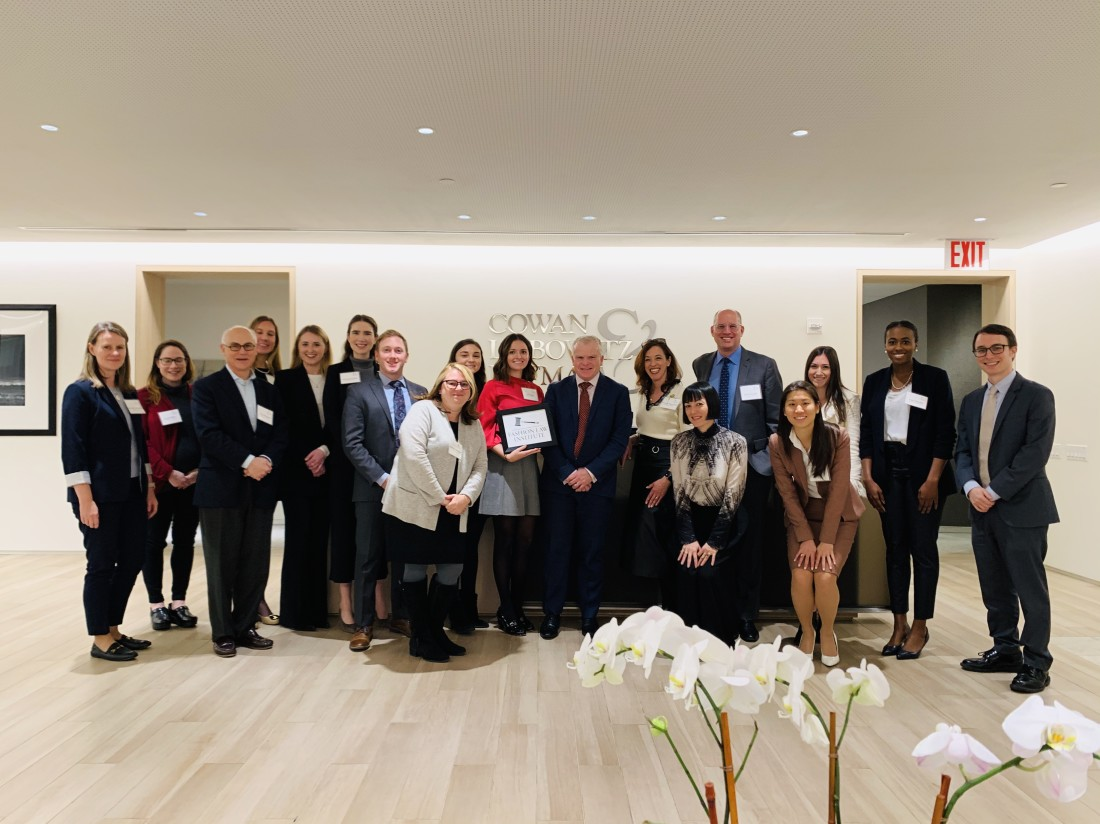 Fordham Fashion Law Institute Pop-Up Clinic Participants