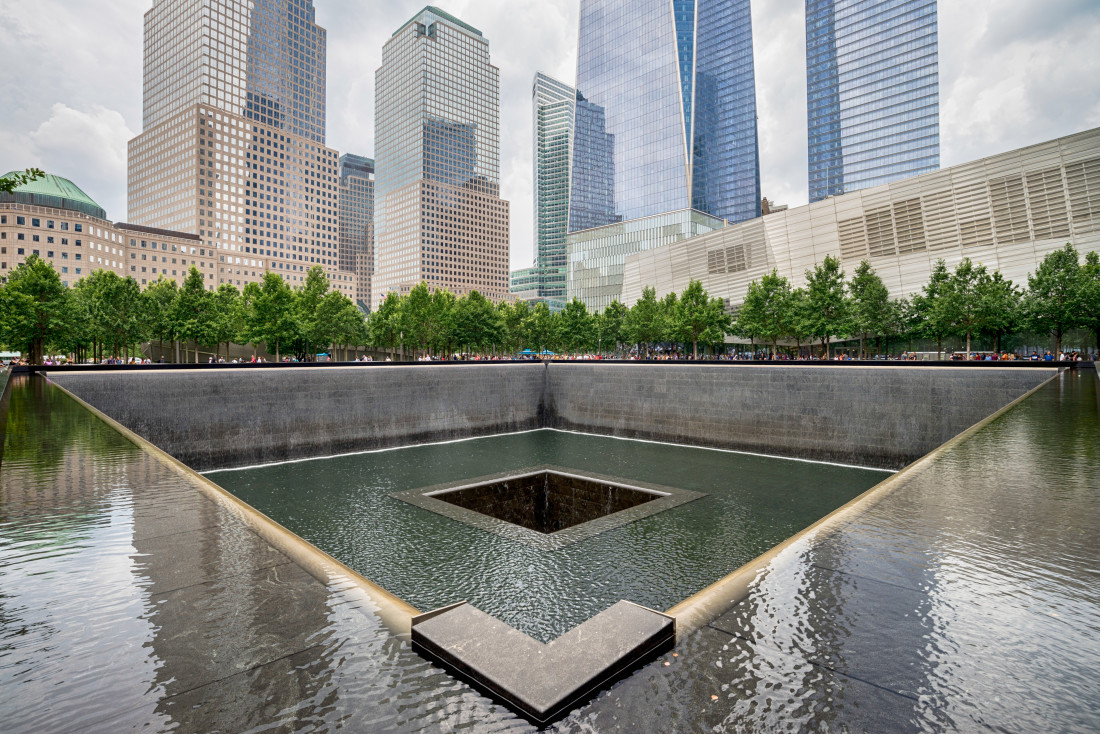 Memorial at World Trade Center Ground Zero