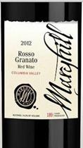 Rosso Ganato Wine Bottle Label