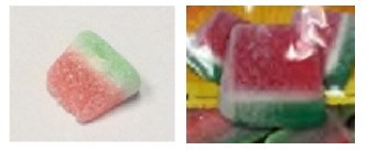 SOUR JACKS watermelon candy & Kervan's watermelon candy