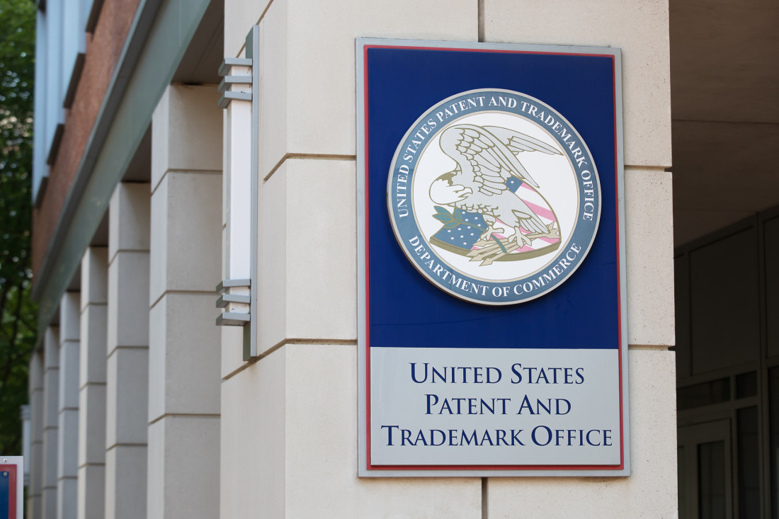 U.S. Patent and Trademark Office Building Sign