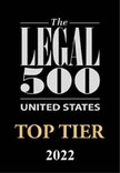 Photo of Legal 500 United States 2020 edition named CLL nationally in Tier 1 for Copyright Law and for Trademark Litigation, and in Tier 2 for Prosecution, Portfolio Management and Licensing